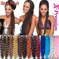 Wholesale <b>Xpression Braiding Hair</b> Colors - Buy Cheap <b>Xpression</b> ...