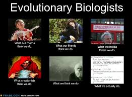 What Evolutionary Biologists Do - The Panda's Thumb via Relatably.com