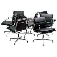 charming charles eames office chairs set of charles and ray eames soft pad boardroom chairs by bedroommarvellous eames office chair soft