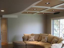 image of ceiling ideas for basements basement lighting options 1