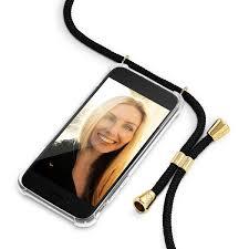 Phone Case <b>Necklace</b>   N°01 <b>BLACK</b>   Cicerly - Cicerly by Stella ...