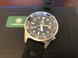 <b>Steeldive SD1979</b> - Squale 1521 Homage - The Dive Watch ...