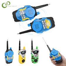 2pcs child kids toy walkie talkie parenting game mobile phone telephone talking 1 2km range for