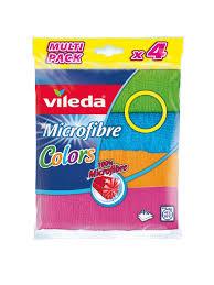 <b>Салфетка</b> Колорс, 4шт <b>Vileda</b> 4112445 в интернет-магазине ...