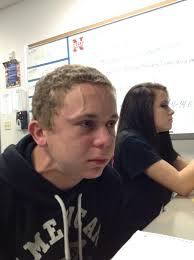 Trying to Hold a Fart Next to a Cute Girl in Class | Know Your Meme via Relatably.com
