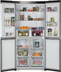 <b>Многокамерный холодильник Hiberg RFQ-490</b> DX NFGS купить в ...