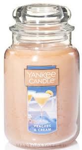 Yankee Candle Large Jar Peaches and <b>Cream</b> - <b>Ароматическая</b> ...