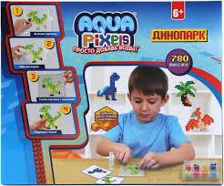 Купить <b>Мозаика 1 TOY Aqua Pixels</b> Динопарк Т13066 по выгодной ...