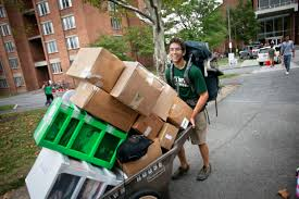 moving into college 6 steps for a quick relaxed move in