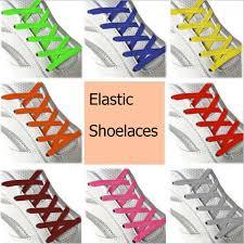 <b>1pair</b> 100CM Stretching Locking no tie <b>lazy shoeLaces</b> sneaker ...