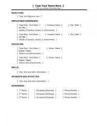 sample resume for models multimedia media cv template