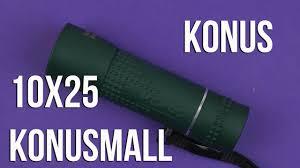 <b>Монокуляр Konus Konusmall 10x25</b> купить недорого в Москве в ...