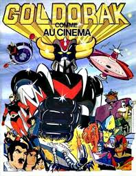 Goldorak, le film poster