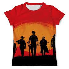 <b>Printio</b> Red Dead Redemption, Женская <b>Одежда</b> Москва