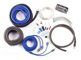 car audio accessories kicker® amp install kits power wire