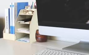 organize your desk before you go home buy home office furniture give