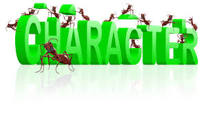 words short essay on character to