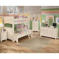 cottage retreat bunk bed bedroom set signature design ashley with regard to ashley furniture bunk beds bunk bed bedroom sets kids