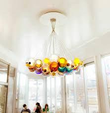 pendant lamp contemporary blown glass low voltage cluster 2837 bocci blown glass lighting pendants