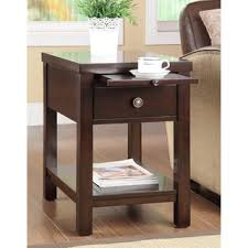 marble dining table adecc: cappuccino hardwood side table p cappuccino hardwood side table