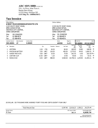 doc 566817 sample tax invoice business invoice forms tax tax invoice template shopgrat n sample dow sample tax invoice