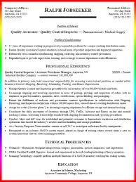 quality control inspector resume sample   resume samplescanned document quality control inspector resume sample