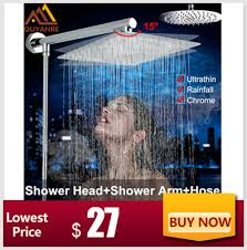 Super Sale #7851 - Quyanre <b>Chrome</b> Waterfall <b>Bathtub Faucet</b> Wall ...