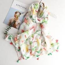 Tropical Print <b>Scarves</b> | Viscose Hijab in 2019 | Hijab | <b>Summer</b> ...