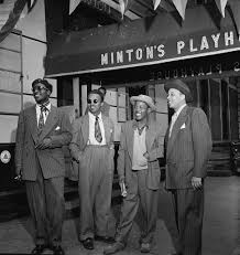 Portrait of <b>Thelonious Monk</b>, Howard McGhee, Roy Eldridge, and ...