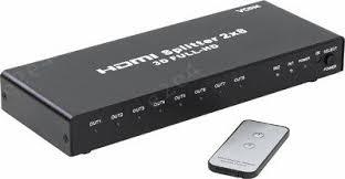 Купить <b>Разветвитель HDMI VCOM</b> 2-8-port Splitter (DD4528) в ...