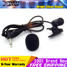 compare prices on star interview online shopping buy low price 10pcs 3 5mm plug tie clip on lapel mic lavalier microphone for wireless speaker megaphone computer