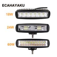 <b>ECAHAYAKU</b> 4 inch 60W LED Work Light 12v 24v Driving Lamp...