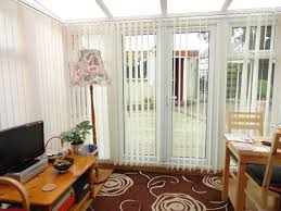 cosy wood sliding patio gallery beautiful living room vertical blinds