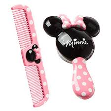 Disney Baby Minnie Hair <b>Brush</b> and Wide Tooth <b>Comb Set</b>