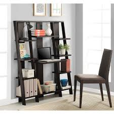 altra ladder desk and bookcase multiple finishes walmartcom bookshelves office great