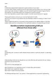 medical receptionist job description