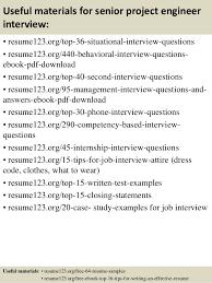 top  senior project engineer resume samples       useful materials for senior project engineer