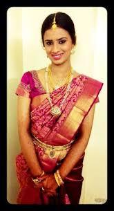 south indian bride bridal makeup and saree