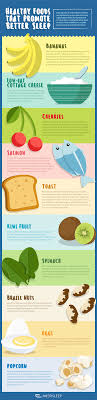 learn how to sleep all night naturally and not wake up span healthy foods that promote better sleep infographic