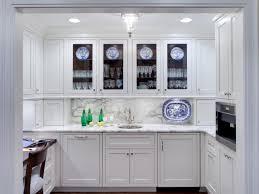 glass door kitchen cabinets wood