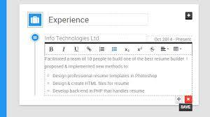 smart resume builder resume builders