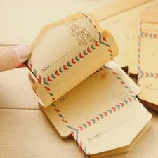 50 <b>pcs</b>/<b>lot</b> Korean <b>Creative Retro</b> Kraft Paper Envelope <b>Vintage</b> 9 ...