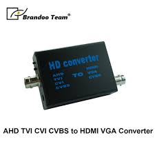 Analog signal <b>TVI AHD CVI</b> TO <b>HDMI VGA CVBS</b> digital video ...