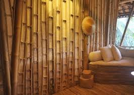 excellent unique rustic eco friendly bedroom interior design ideas using bamboo wall and bamboo flooring bamboo wood furniture