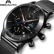 MEGALITH <b>Fashion Sport Men's</b> Watch Men Waterproof ...