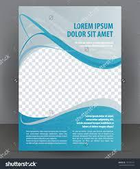 magazine flyer brochure cover layout design stock vector  magazine flyer brochure and cover layout design template vector illustration