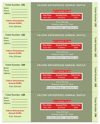 raffle ticket templates in microsoft word  mail merge annual raffle three prizes