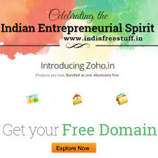 Get Free .in And . Co.in Domain In Zoho.in - Indian Freebies - India ...