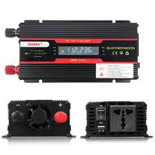 <b>4000w peak power inverter</b> lcd display dc 12/24v to ac 110v/220v ...