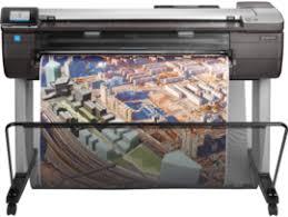 <b>HP DesignJet T830</b> Large Format Multifunction Wireless Plotter Printer
